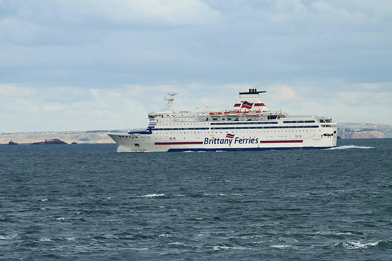 Brittany Ferries by Mick Dryden